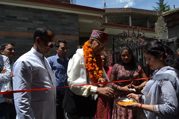 Himachal people at the forefront of social service: Satya Prakash Thakur - Kullu News in Hindi