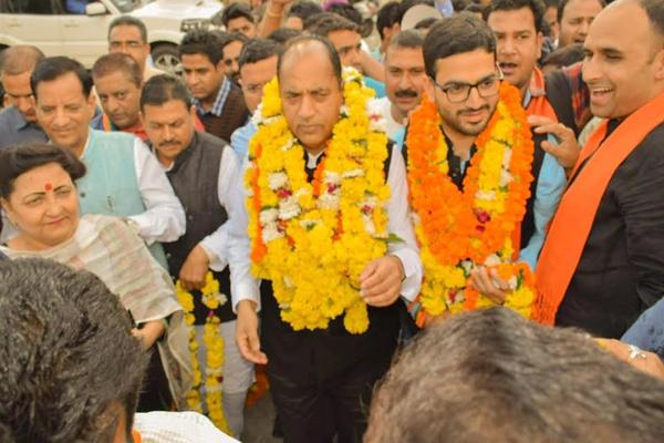 BJP प्रत्याशी विशाल नेहरिया को विधानसभा उप-चुनाव में भरपूर समर्थन देने का आग्रह
