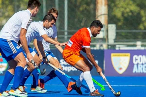 Hockey: Argentina beat India 1-0 - Sports News in Hindi