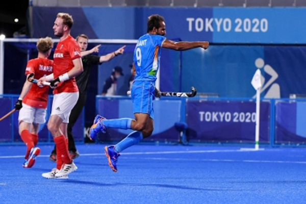 Olympics Hockey - India reached the semi-finals after four decades, will take on Belgium - Sports News in Hindi