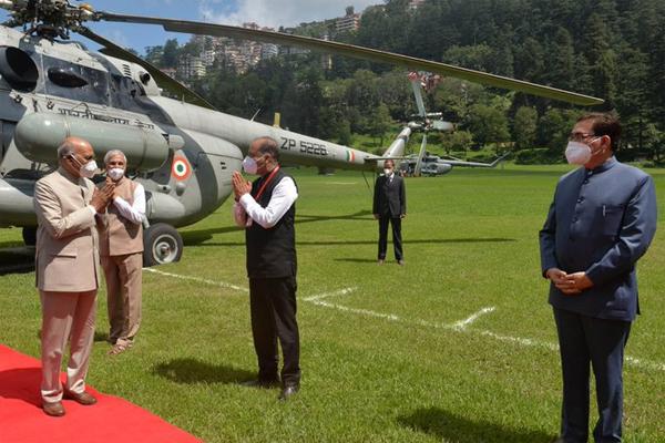 हिमाचल के चार दिवसीय दौरे को लेकर राष्ट्रपति शिमला पहुंचे
