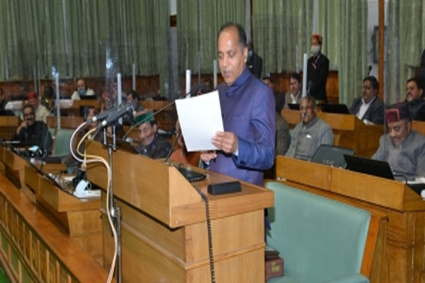Himachal Chief Minister presented budget of Rs 50,192 crore - Shimla News in Hindi
