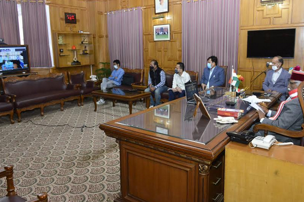 Help of PGI Chandigarh to deal with Covid-19 - Governor - Shimla News in Hindi