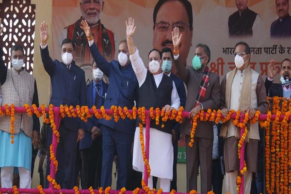 हिमाचल प्रदेश में डबल इंजन की सरकार चल रही है जो विकास के लिए संकल्पित है - जेपी नड्डा