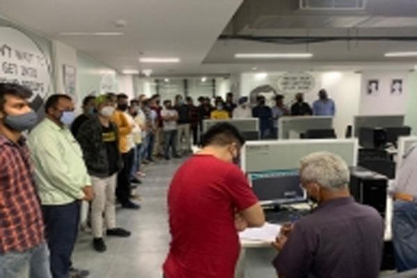 One more fake call center busted in Gurugram - Gurugram News in Hindi