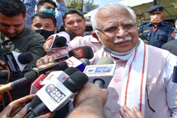 Haryana Chief Minister inaugurates projects worth Rs 1,411 crore - Chandigarh News in Hindi