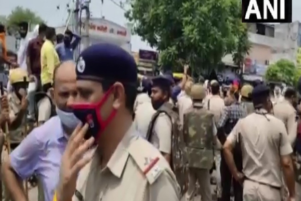 Clashes between farmers and police in Yamunanagar, Haryana - Chandigarh News in Hindi