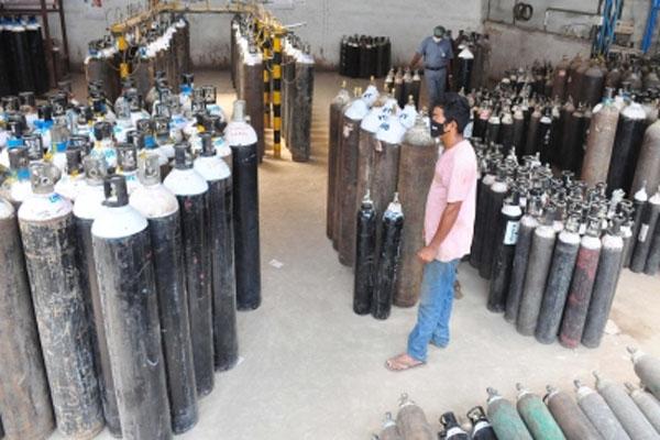 Oxygen cylinders will be refilled door-to-door in Haryana - Chandigarh News in Hindi