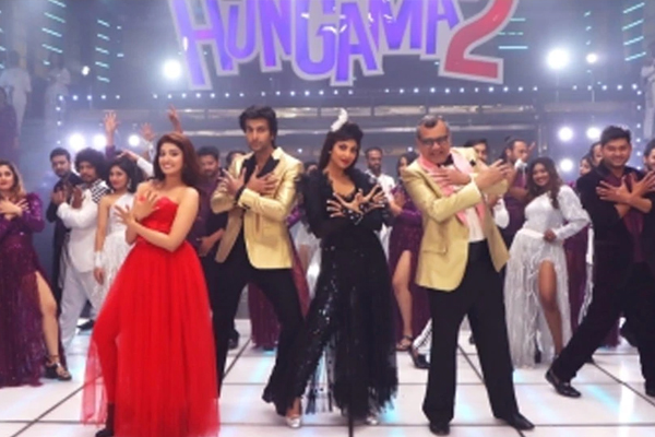 Shilpa Shetty, Paresh Rawal shoot for title track of Hungama 2 - Bollywood News in Hindi