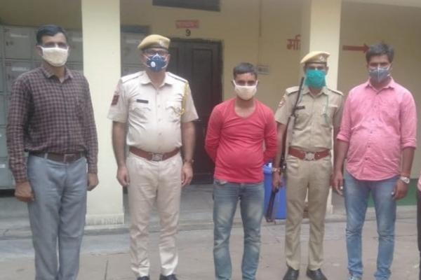 Illegal drug smuggler arrested in Jaipur, 18 kg hemp recovered - Jaipur News in Hindi