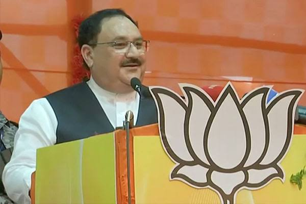 BJP president J.P. Nadda two day tour of Assam from Monday, rally in Silchar - Delhi News in Hindi