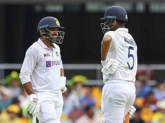 Brisbane Test: Shardul-Sundar showed strength, Australia lead by 54 runs - Delhi News in Hindi
