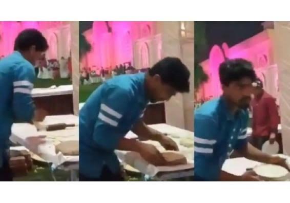 उप्र : रोटी बनाने के दौरान गूंथे आटे पर थूकने वाला शख्स गिरफ्तार