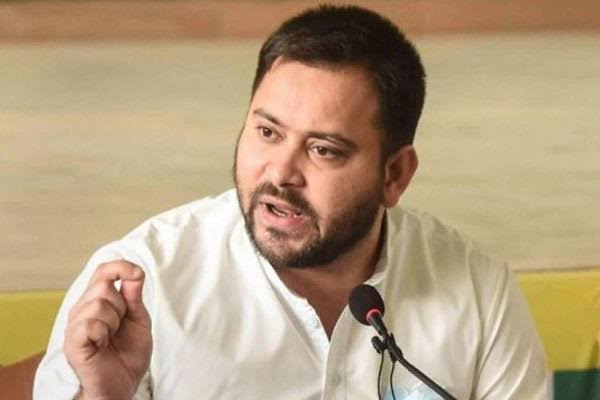 Tejashwi Yadav attack, crime cases increased under Nitish government - Patna News in Hindi