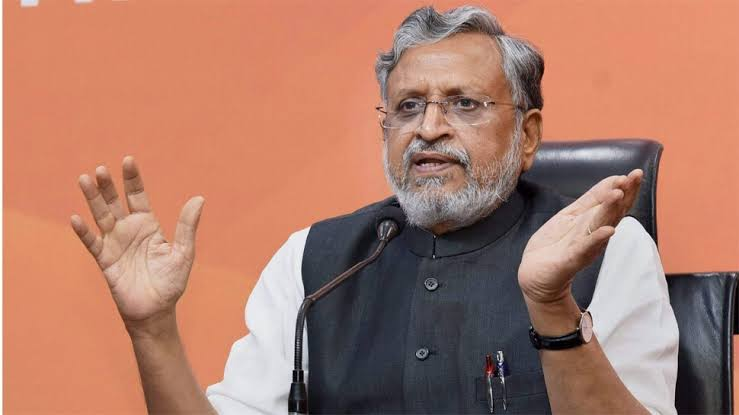 BJP not in favor of reservation for converts to Christianity and Muslim religion: Sushil Modi - Patna News in Hindi