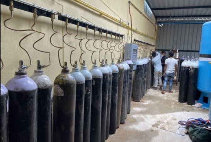 Kanpur: 1 killed due to cylinder explosion in oxygen plant - Kanpur News in Hindi