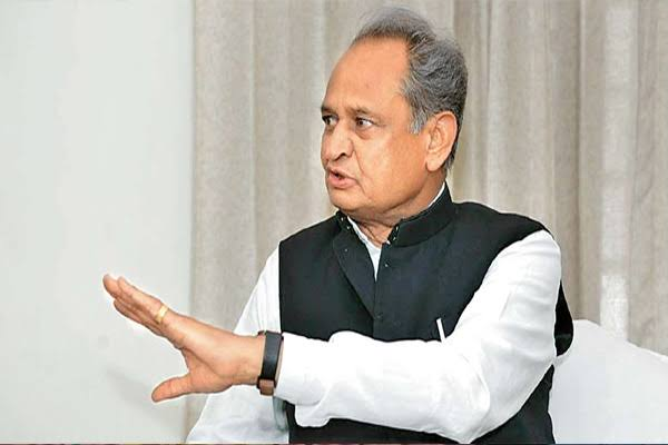 Rajasthan CM Gehlot advised Amarinder to work in the interest of the party - Jaipur News in Hindi
