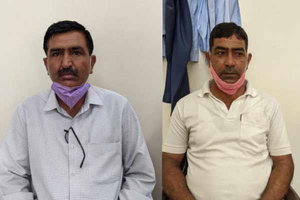 जयपुर में आबकारी थाना चौंमू के प्रहराधिकारी व कांस्टेबल रिश्वत लेते गिरफ्तार