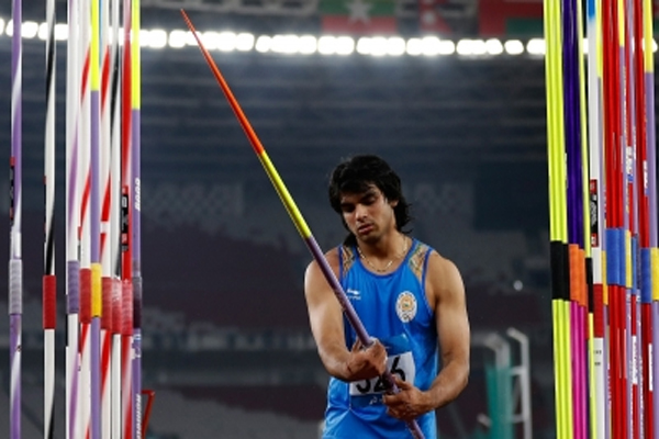 भारत के भाला फेंक एथलीट चोपड़ा ने लिस्बन में स्वर्ण जीता