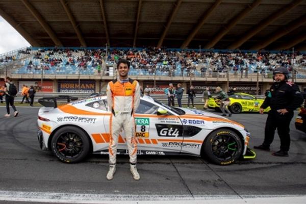 पोडियम फिनिश की उम्मीद में भारतीय कार रेसर अखिल