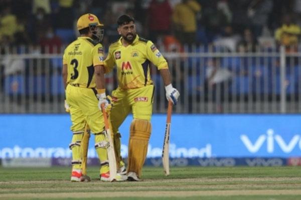 IPL 2021 - Dhoni and Raina pair won Chennai by six wickets - Cricket News in Hindi