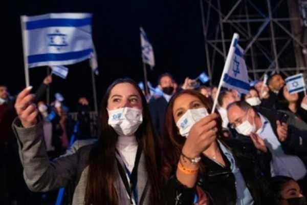 इजरायल में बाहर मास्क पहनने से मिलेगी इजात