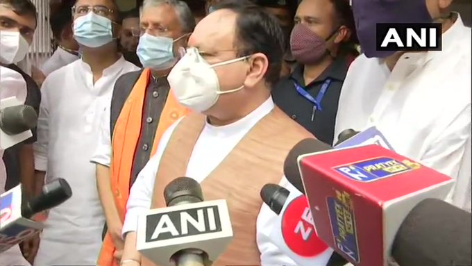 Bihar Election: J.P. Nadda reached Patna - Patna News in Hindi