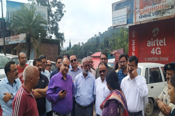 Instructions to relocate Rawamapa Rajari, Jabali - Solan News in Hindi