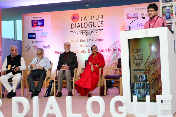 jaipur news : Discussion on religion and nationality on the first day in Jaipur Dialogues - Jaipur News in Hindi