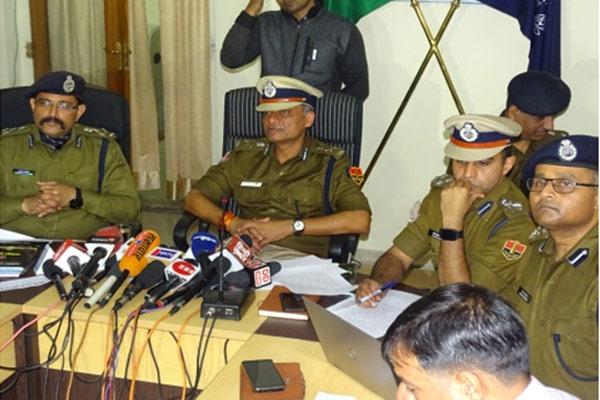 In the year 2017, police topped the scandal over crimes, but failed to deal with cyber crimes - Jaipur News in Hindi