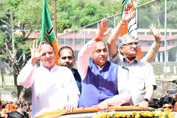 लोकसभा चुनाव में भारी बहुमत से जीतेगी भारतीय जनता पार्टी : जयराम ठाकुर