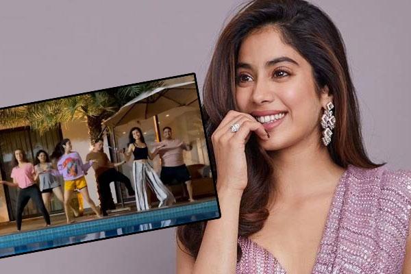 Janhvi Kapoor posts a fun reel on Instagram - Bollywood News in Hindi