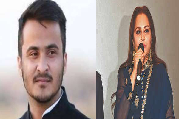 Azam Khan son Abdullah disputed statement on Jayaprada - Rampur News in Hindi