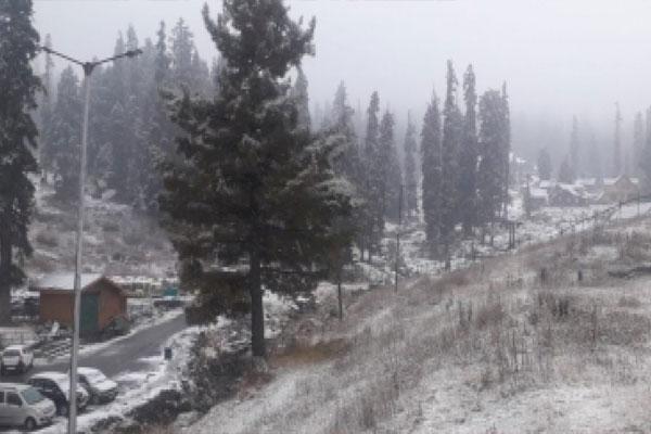 Light snow, rain likely in Kashmir & Ladakh - Srinagar News in Hindi