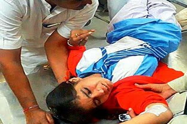 School Bus accident in Jodhpur - Jodhpur News in Hindi