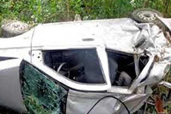 Two cars collided at the Nahargarh sanctuary hills, 1 death - Jaipur News in Hindi