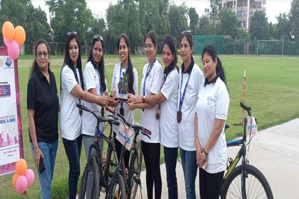 जयपुर साइक्लोथॉन के तीसरे वर्चुअल एडिशन में देश विदेश के साइकिलिस्ट हुए शामिल