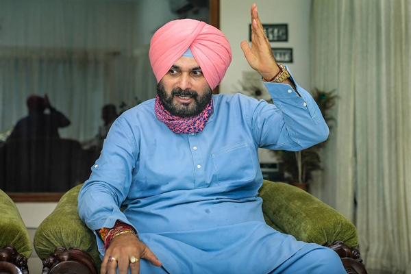 Congress insulted Dalits by saying Punjab elections were fought under Sidhu leadership: BJP - Delhi News in Hindi