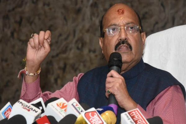 Amar Singh ancestral property will run on a school affiliated with RSS - Lucknow News in Hindi