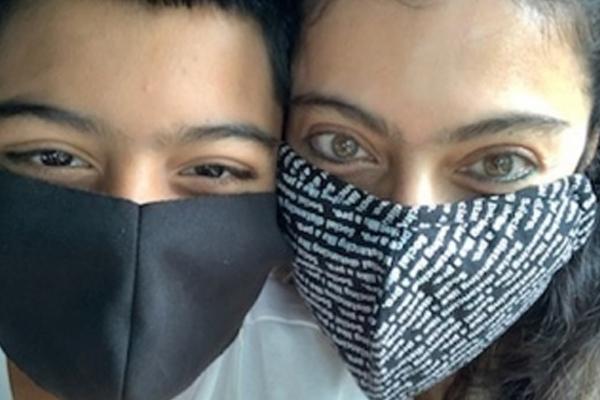 Kajol shares glimpse of the masked bandits - Bollywood News in Hindi