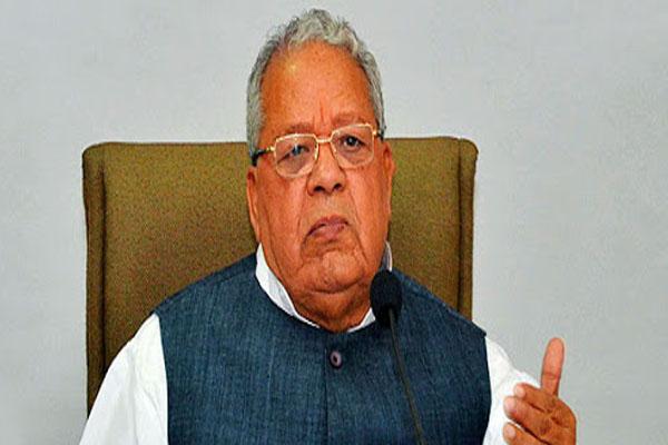 Governor Kalraj Mishra said, Do not be afraid of Corona, be careful - Jaipur News in Hindi