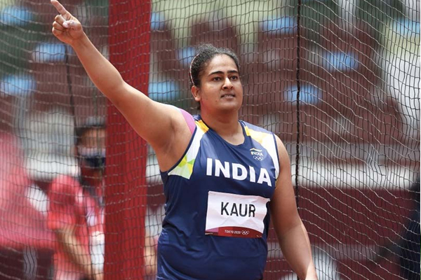 Olympics (discus throw): Kamalpreet would like to measure the distance to the medal - Sports News in Hindi