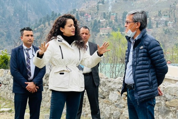 Kangana Ranaut opens cafe and restaurant in Manali - Mandi News in Hindi