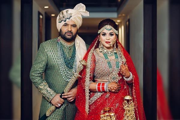 कपिल शर्मा ने गिन्नी चतरथ से जालंधर में शादी की, देखें तस्वीरें