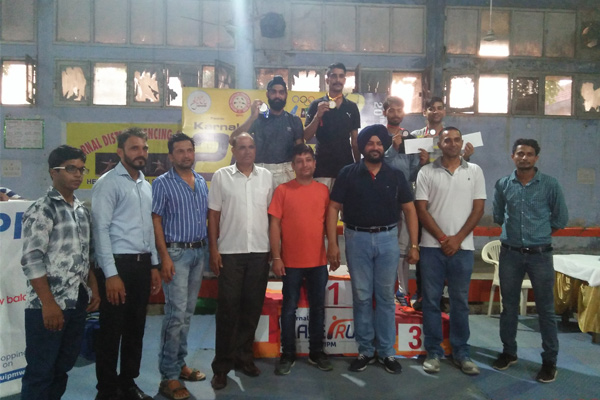 Deepak become the winer of Karnal EP Open competition-2017 - Shimla News in Hindi