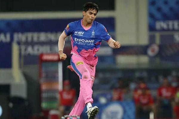 Kartik Tyagi helps Rajasthan Royals beat Punjab by two runs - Cricket News in Hindi