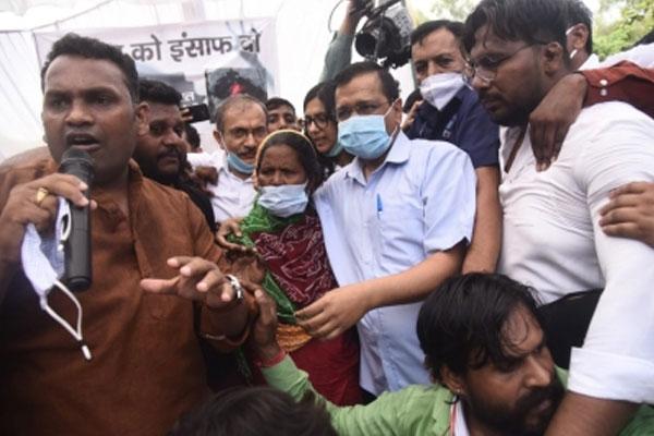 Kejriwal orders probe into alleged rape and murder of minor girl - Delhi News in Hindi