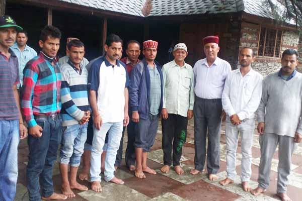 khushhal thakur Public relations campaign in mandi - Mandi News in Hindi