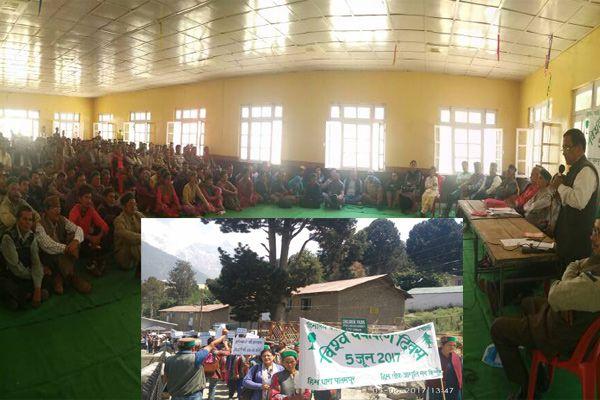 रैली, संगोष्ठी और प्रतियोगिता आयोजित कर मनाया पर्यावरण दिवस