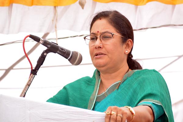 उच्च शिक्षा मंत्री ने प्रतापगढ़ में किया एनीकट का लोकार्पण
